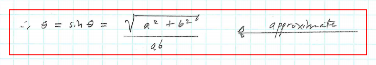 Yield Line Formula